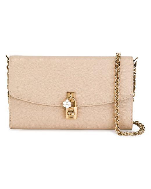 Dolce & Gabbana   Женское Nude & Neutrals Dolce Crossbody Bag