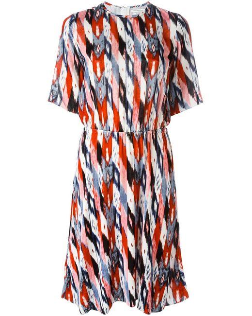 Isabel Marant Étoile | Женское Многоцветное Бархатное Платье Landen