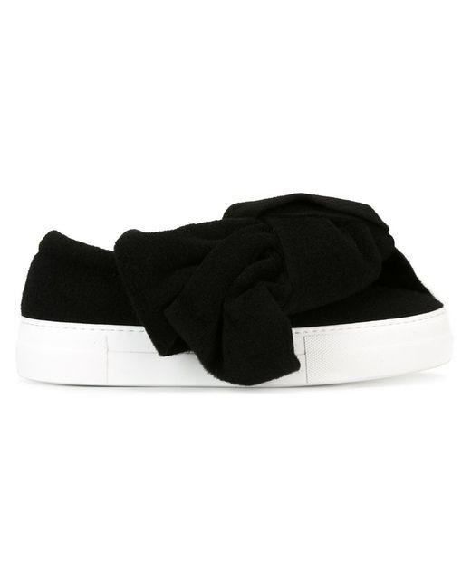 Joshua Sanders   Женское Чёрный Bow Detail Sneakers