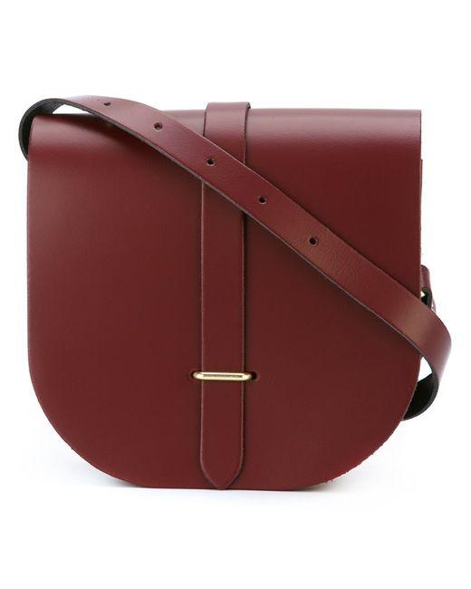 The Cambridge Satchel Company | Женское Красный Saddle Crossbody Bag