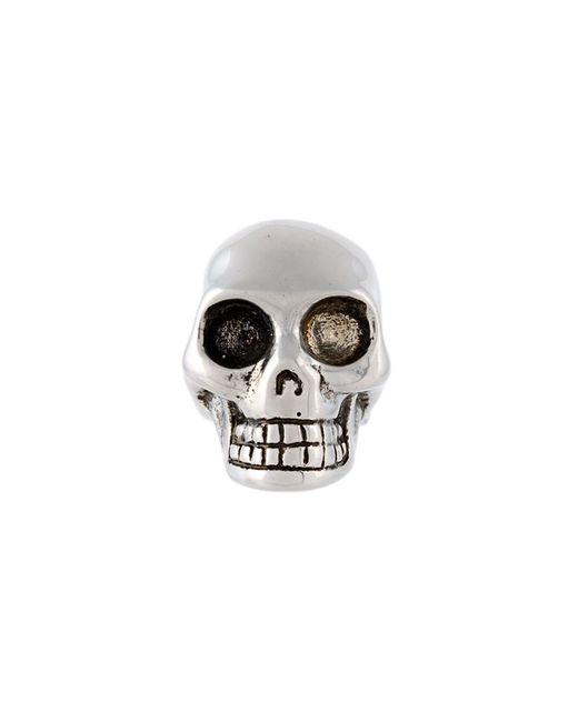 Alexander McQueen | Серебристый Skull Earring