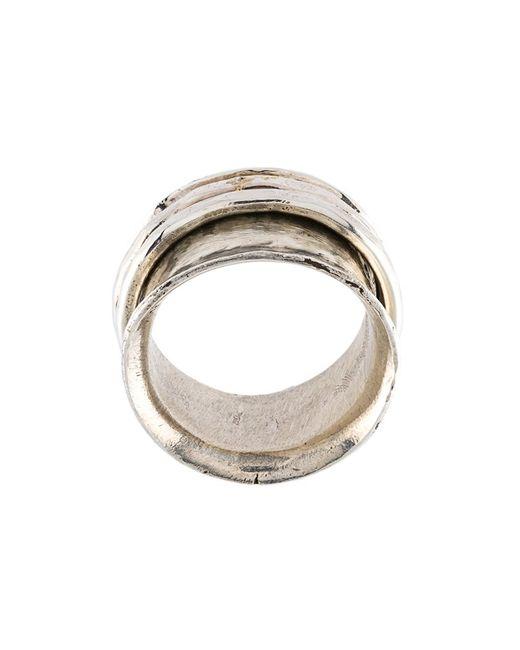 HENSON | Женское Серебристый Spinner Ring