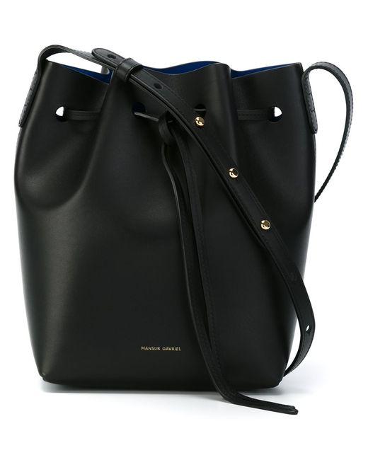 MANSUR GAVRIEL | Женское Чёрный Mini Bucket Bag
