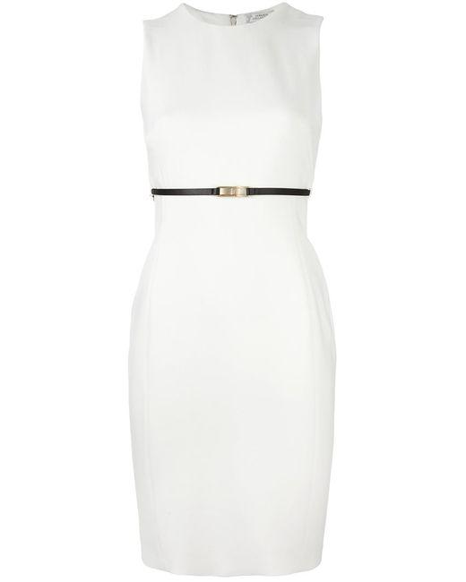 Versace Collection   Женское Белый Belt Detail Sleeveless Dress