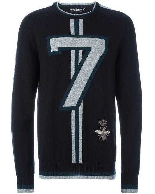Dolce & Gabbana | Мужское Чёрный 7 Sweater