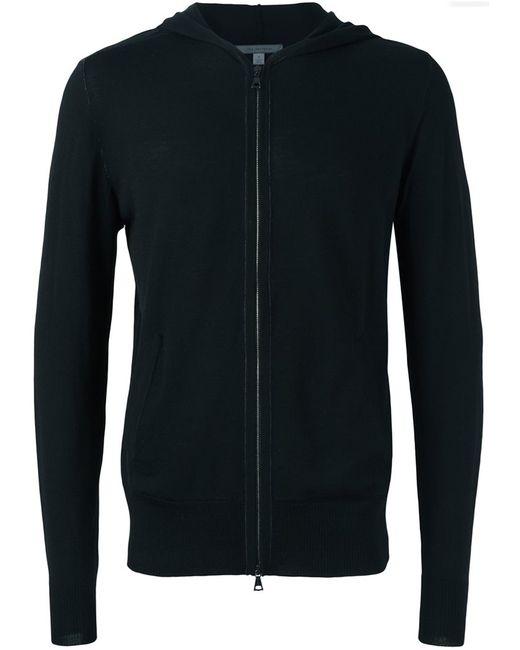 John Varvatos | Мужское Чёрный Hooded Sweater