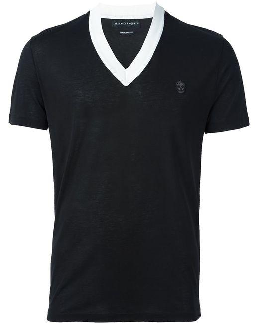Alexander McQueen | Мужское Чёрный Skull Patch T-Shirt