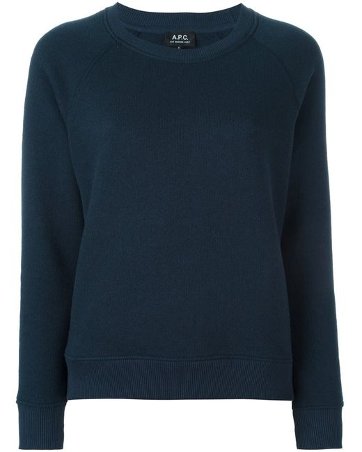 A.P.C. | Женское Синий Running Sweatshirt