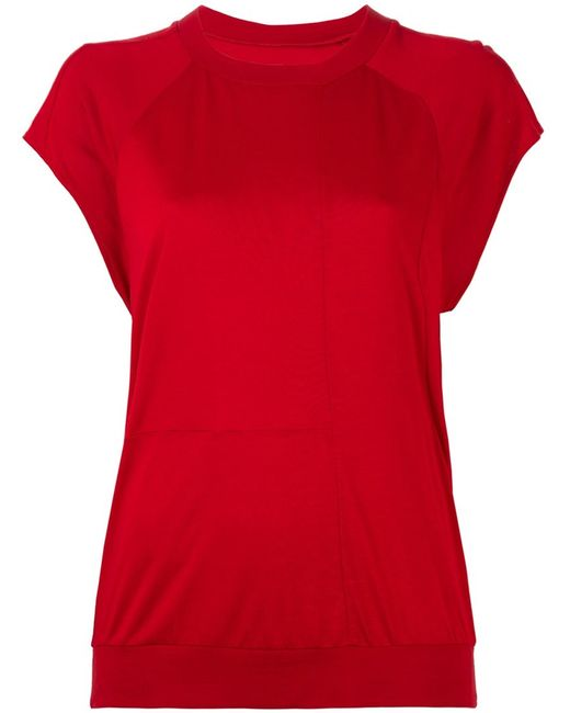 MM6 by Maison Margiela | Женское Красный Mm6 Maison Margiela Plain T-Shirt