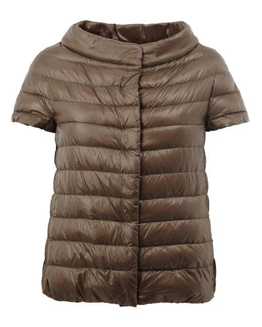 Herno | Женское Nude & Neutrals Wide Collar Puffer Jacket