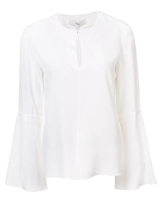 Tibi   Женская Белая Блузка Heavy