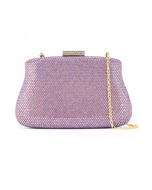 SERPUI | Женское Розовый Embellished Clutch Bag