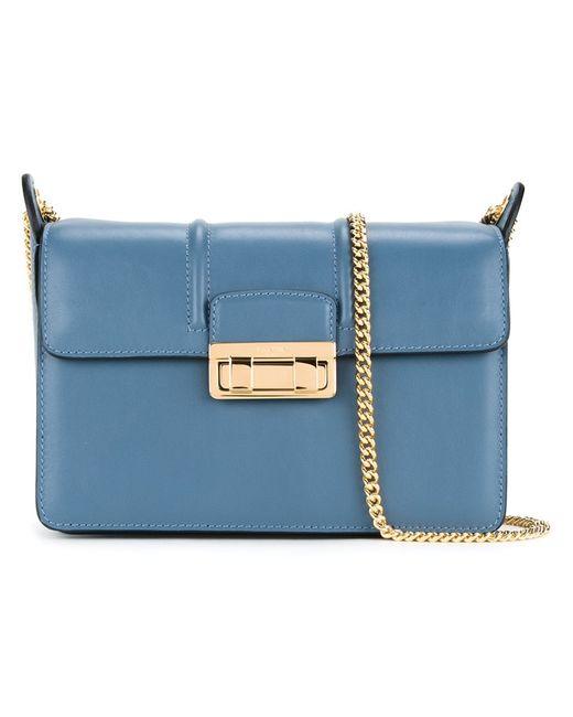 Lanvin   Женское Синий Small Jiji Shoulder Bag