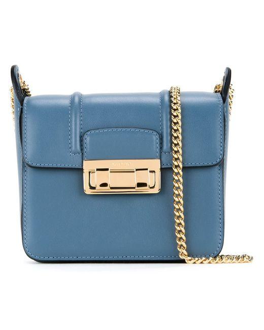 Lanvin | Женское Синий Mini Jiji Shoulder Bag