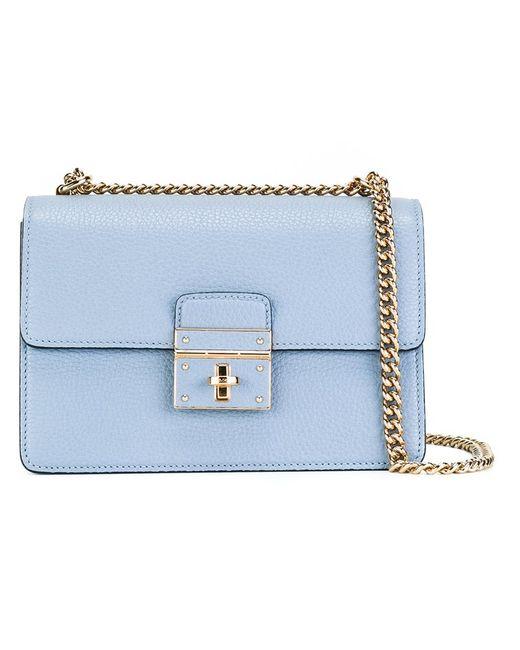Dolce & Gabbana   Женская Синяя Сумка На Плечо Rosalia