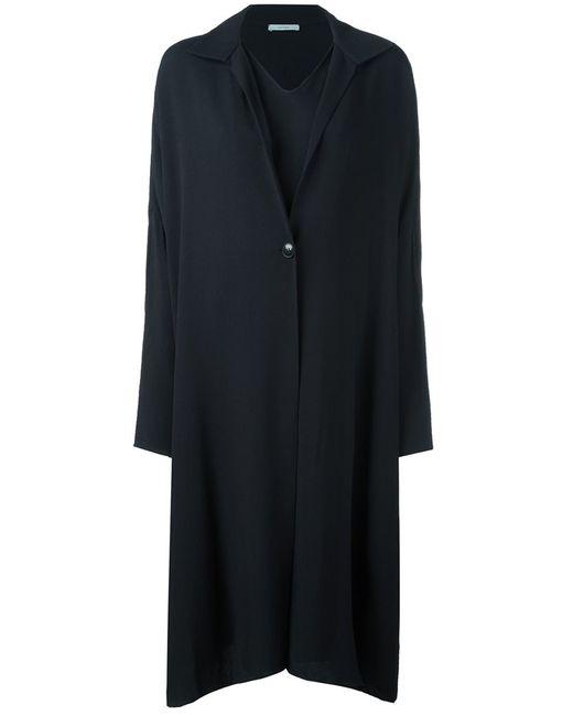 DUSAN | Женское Чёрное Платье-Пальто