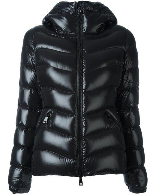 Moncler | Женская Чёрная Куртка-Пуховик Anthia