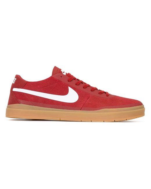 Nike | Мужские Красные Кеды Sb Ruin Hyperfeel