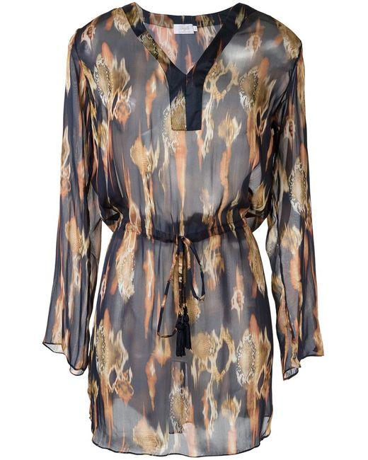 Brigitte   Женское Синий Printed Beach Dress