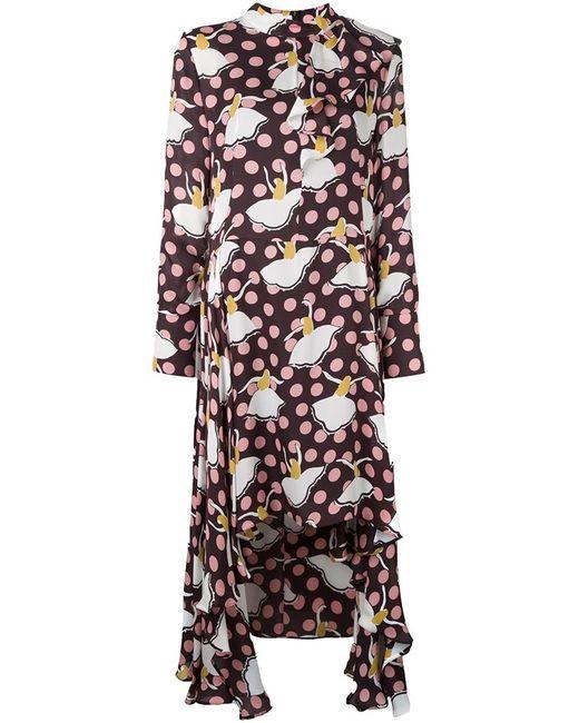 Marni | Женское Коричневое Платье Pirouette