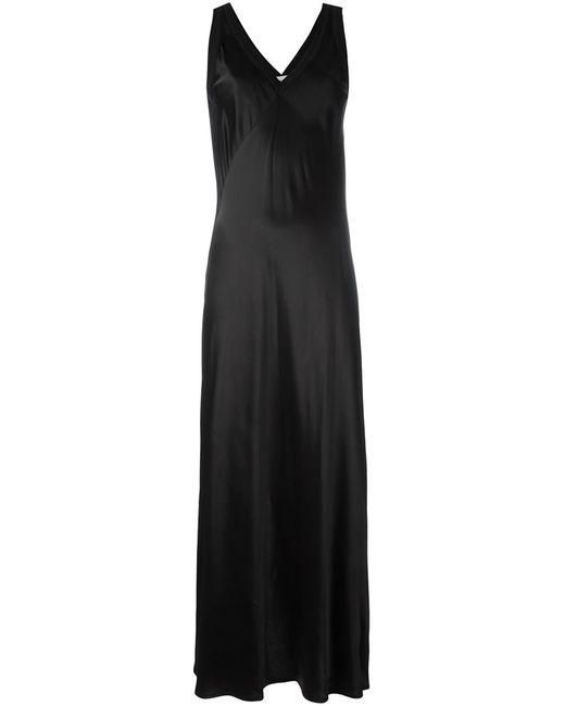 DKNY | Женское Чёрный Satin Slip Dress