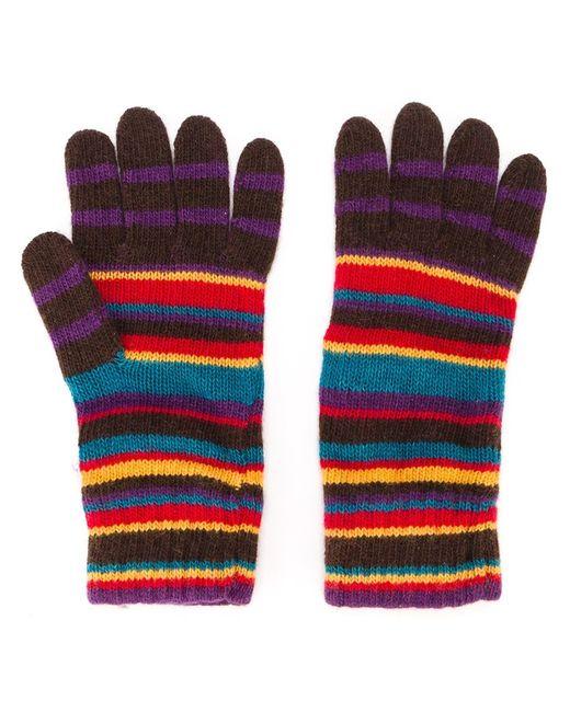 Paul Smith | Мужское Многоцветный Striped Gloves