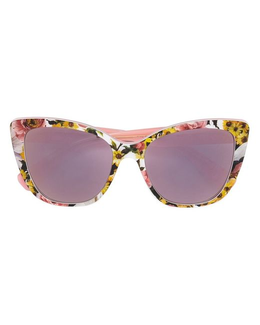 Dolce & Gabbana | Женское Многоцветный Cat Eye Frame Sunglasses