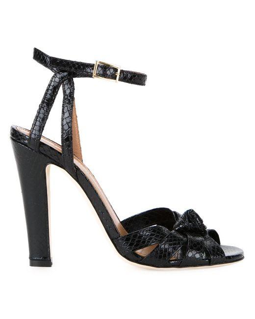 SCANLAN THEODORE | Женское Чёрный Knot Front Sandals