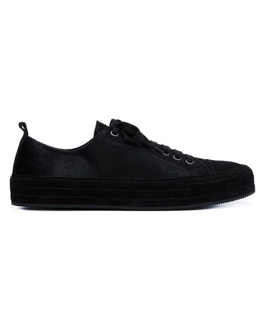 Ann Demeulemeester   Мужское Чёрный Argo Sneakers