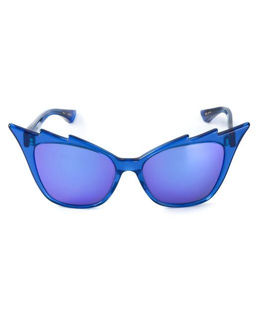 DITA Eyewear | Женские Синие Солнцезащитные Очки Hurricane