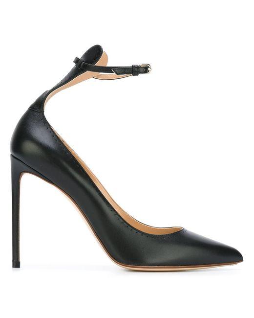 FRANCESCO RUSSO | Женское Чёрный Ankle Strap Pumps
