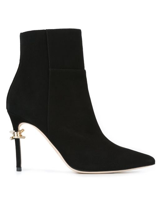 Dsquared2 | Женское Чёрный Babe Wire Ankle Boots