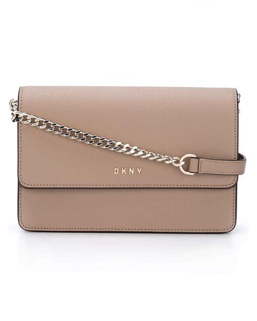 DKNY   Nude & Neutrals Chain Strap Shoulder Bag
