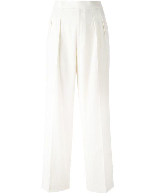 Polo Ralph Lauren   Женские Белые Укороченные Брюки