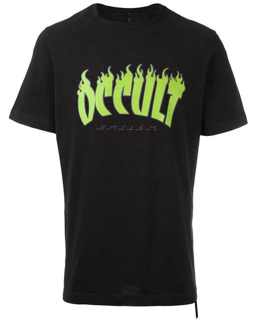 Omc | Мужское Чёрный Occultnv Natural Vegetable-Cotton