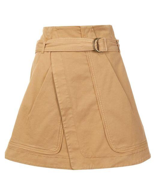 Vanessa Bruno | Женское Коричневый Belted A-Line Skirt