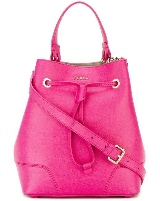 Furla | Розовая Сумка-Мешок