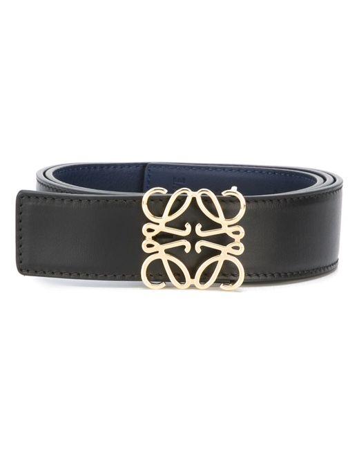 Loewe | Женское Синий Logo Plaque Belt