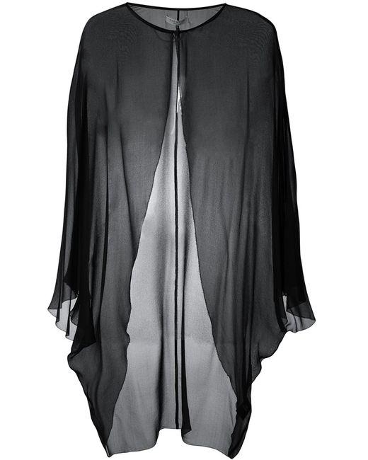 Halston Heritage   Женское Чёрный Sheer Evening Jacket