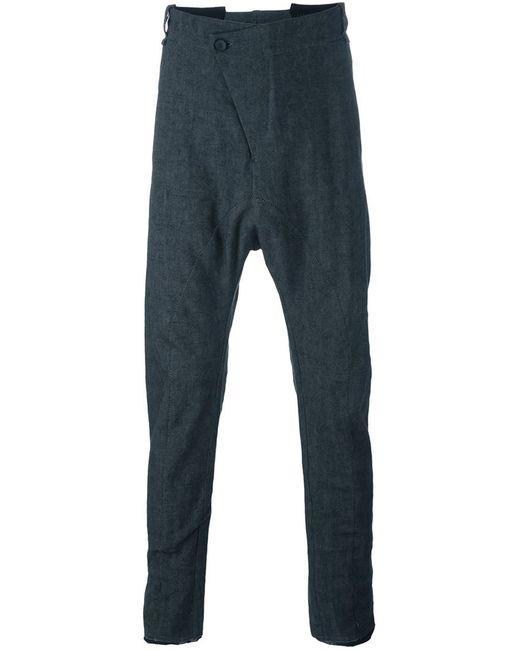Masnada   Серый Baggy Drop Crotch Trousers
