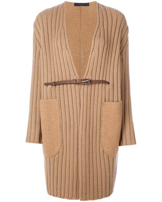 Fabiana Filippi   Коричневый Belted Cardi-Coat Women
