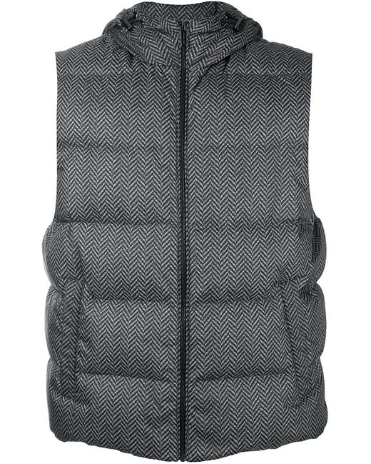 Michael Kors | Мужское Чёрный Hooded Padded Gilet