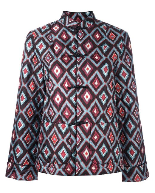 FOR RESTLESS SLEEPERS | Женское Многоцветный Geometric Print Quilted Jacket