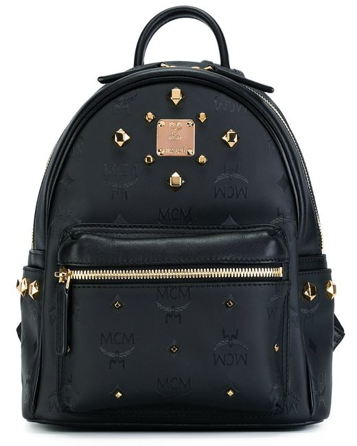 MCM | Чёрный Studded Backpack