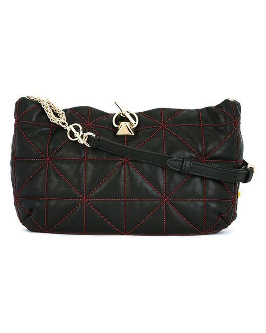 Sonia Rykiel | Чёрный Geometric Pattern Crossbody Bag