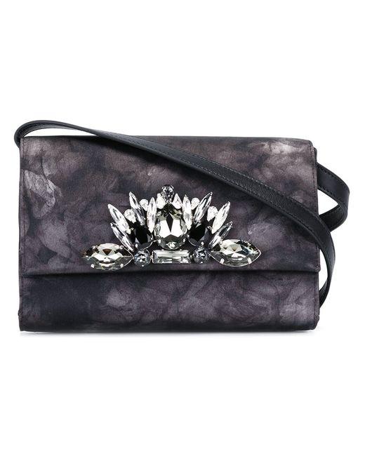 Marcel Seraphine | Чёрный Embellished Crossbody Bag