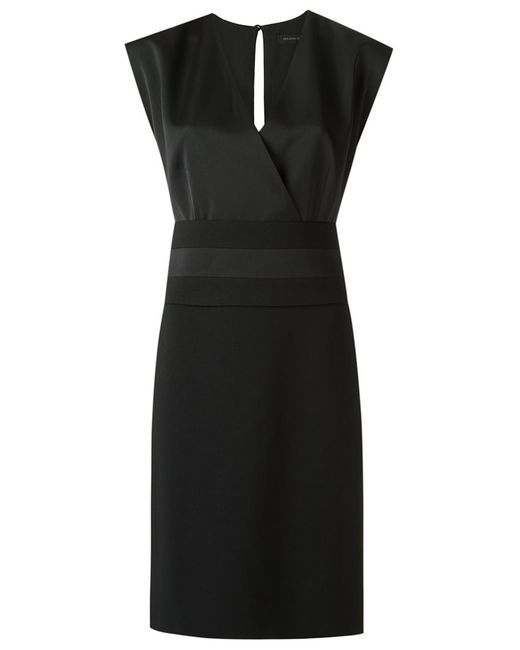 GIULIANA ROMANNO   Женское Чёрный Shift Dress