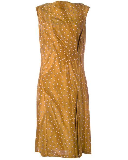 Kenzo | Женское Желтый Asymmetric Wrap Dress