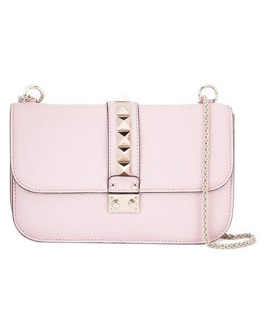 Valentino | Розовая Сумка На Плечо Glam Lock