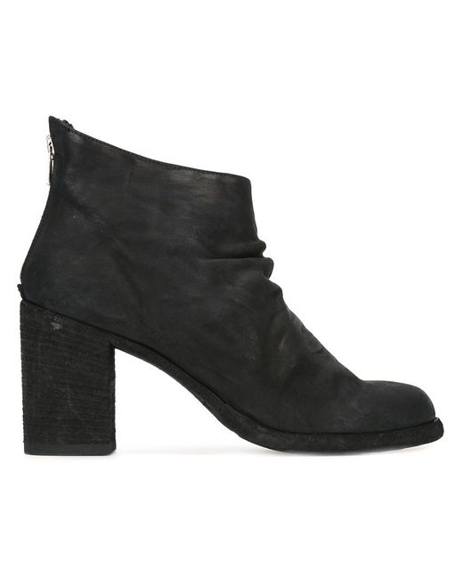 Officine Creative   Женские Чёрные Ботинки Vernon